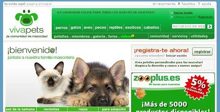 VivaPets red social mascotas animales