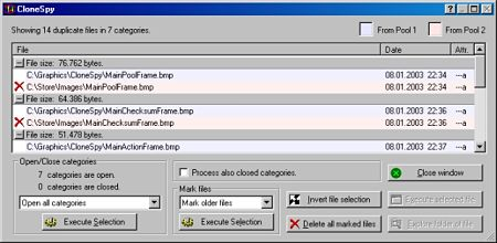 CloneSpy eliminar archivos duplicados pc