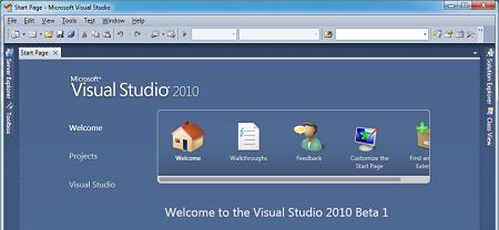 Microsoft Visual Basic Express 2010