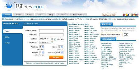 billetes.com buscador de vuelos hoteles baratos