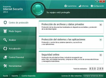 descargar Kaspersky Internet Security 2011
