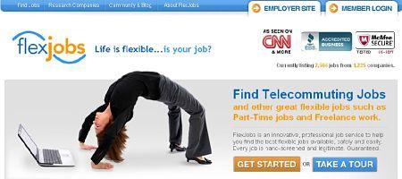 flexjobs empleos trabajar desde casa