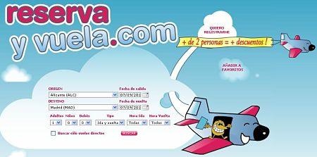 Reservayvuela.com vuelos baratos