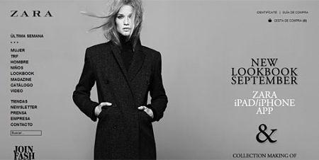 Zara tienda online probador virtual