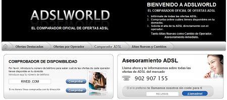 ADSLWorld ofertas adsl