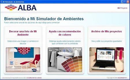 Alba mi simulador de ambientes colores para pintar tu casa - Simulador pintar habitacion ...