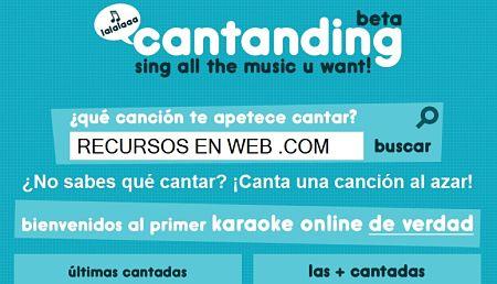 Cantanding karaoke