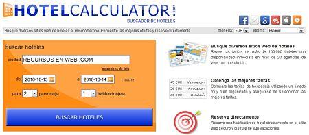 Hotel Calculator hoteles