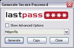 Lastpass contraseñas navegador