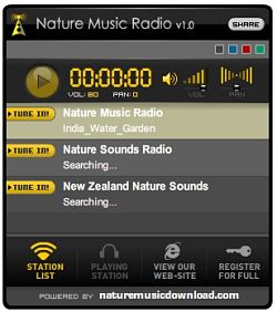 Nature Music Radio musica relajante