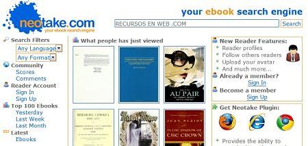 neotake descargar ebooks gratis
