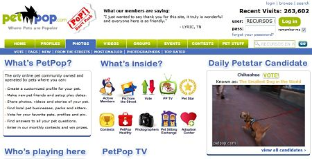 Petpop red social mascotas animales