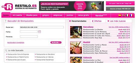Restalo.es reservar restaurantes