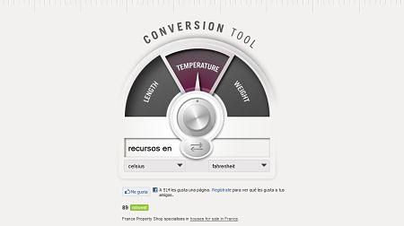 Conversion Tool convertir unidades