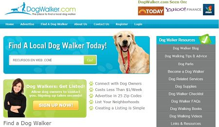 DogWalker paseadores de perros