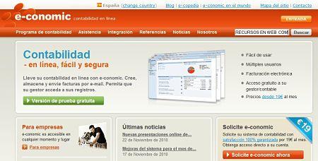 E-conomic contabilidad online