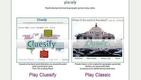 Placefy juego ciudades geografia viajes