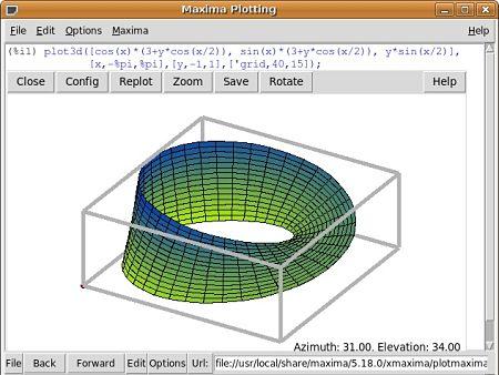 Maxima calculos algebra graficas