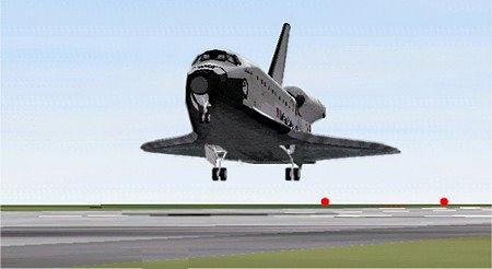Orbiter simulador espacial