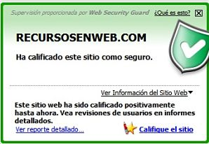 Web Security Guard
