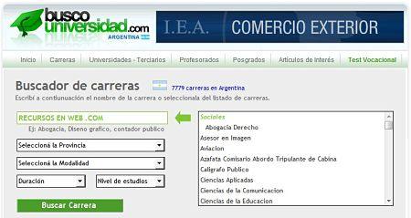 Busco Universidad