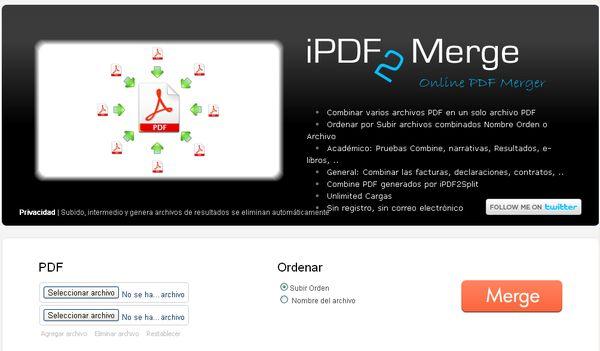 iPDF2Merge