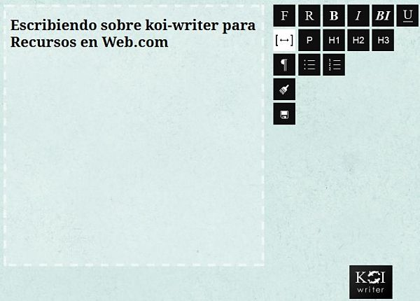 koi-writer