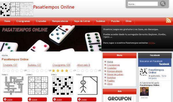 Pasatiempos Online