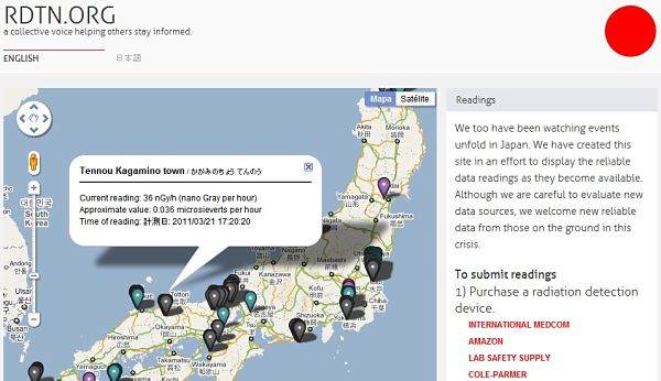 RDTN.org radiacion japon