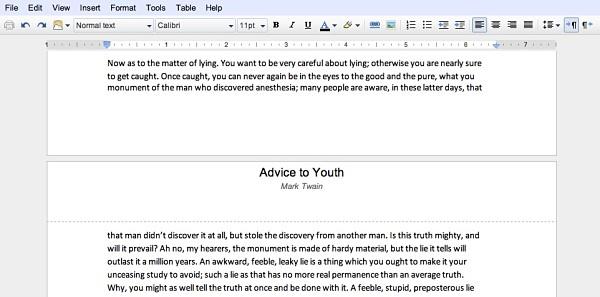 Google Docs añade (por fin) paginación de documentos e impresión nativa
