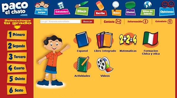 Paco El Chato Diversion Y Aprendizaje Para Ninos De Primaria