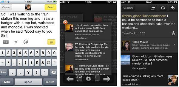 TweetDeck rediseña su versión para iOS