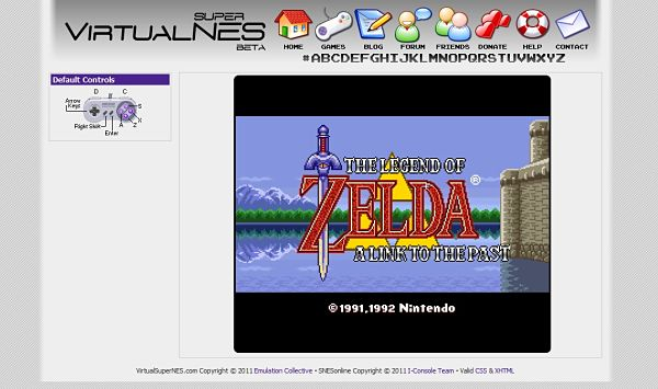 Virtual Super Nes emulador