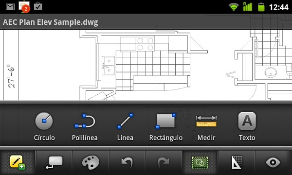 AutoCAD llega a Android