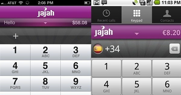Ya disponible JaJah para iPhone y Android