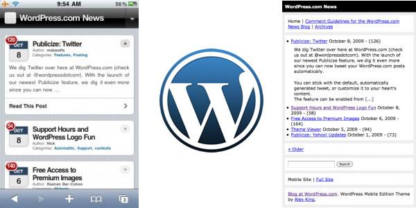 WordPress Mobile Edition
