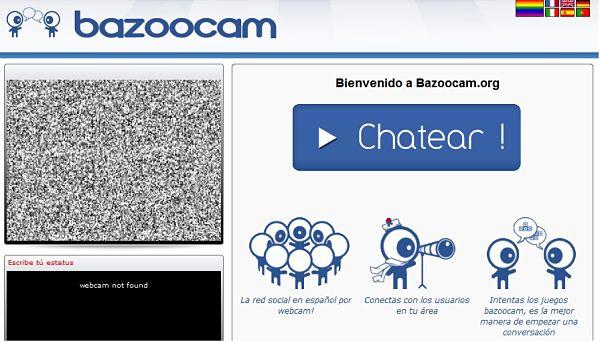 Con BAZOOCAM , al más puro estilo ChatRoulette , podemos acceder a ...