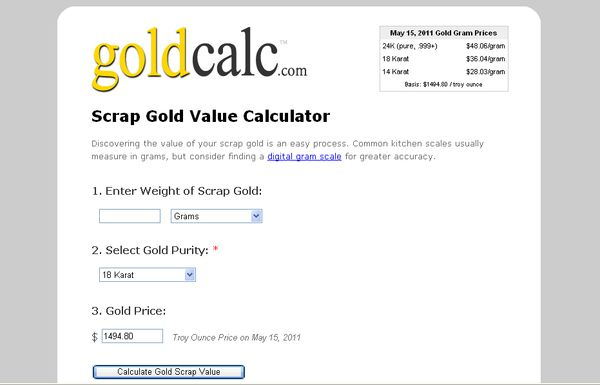 GoldCalc