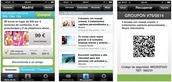 Groupon iphone