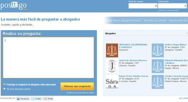 Posttigo abogados online