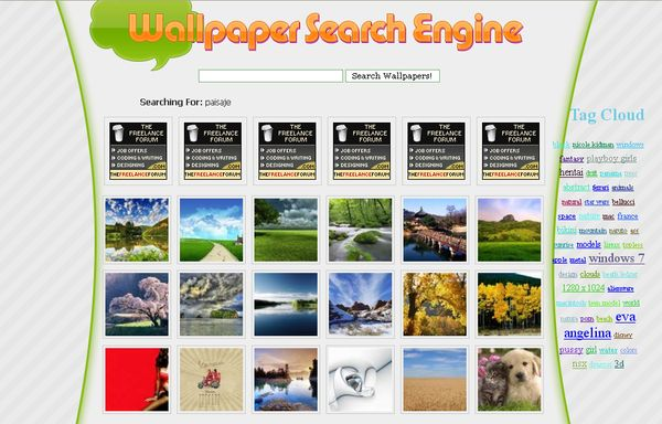 Wallpaper Search Engine