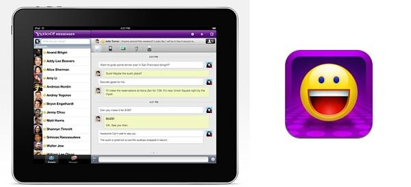 Yahoo! Messenger estrena aplicación de vídeochat para el iPad
