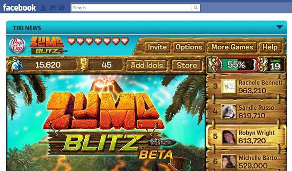 Zuma Blitz Facebook