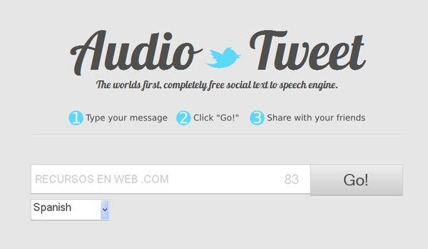 AudioTweet