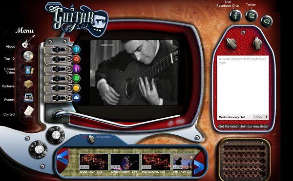 GuitarTV videos guitarras