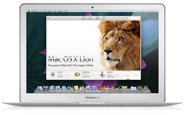 Apple presenta Mac OS X Lion