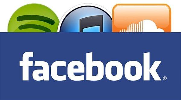 Facebook planea su entrada en el sector musical