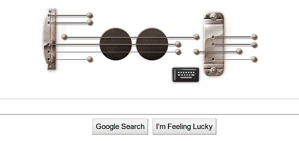 El Doodle de Les Paul sigue disponible