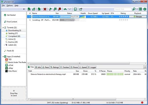 uTorrent 3.0