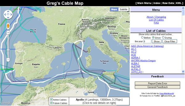Greg's Cable Map
